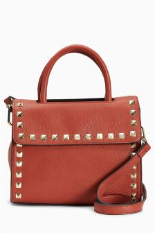 Studded Mini Tote Bag