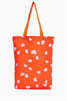 Heart Print Shopper