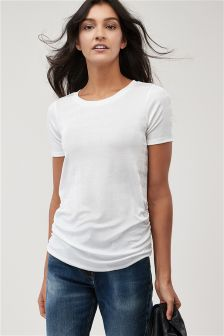 Slinky Ruched Tee