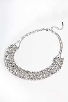 Sparkle Three Row Necklace