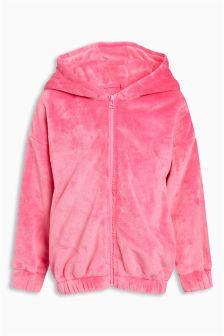 Super Soft Hooded Zip Through (3-16yrs)
