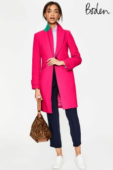 Boden Carnival Pink Aileen Coat