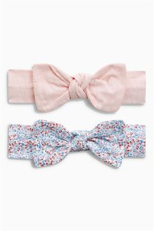 Ditsy Headband Two Pack (0mths-2yrs)