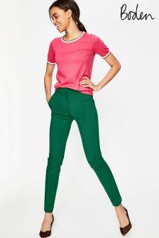Boden Sap Green Hampshire 7/8 Trouser