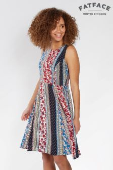 FatFace Multi Karen Sari Floral Dress