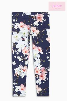 baker by Ted Baker Navy Blossom Leggings