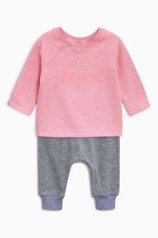 Sweat And Joggers Set (3mths-6yrs)
