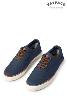 Fat Face Navy Ashe Weekender Trainer