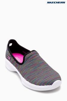 Skechers® Black Go Walk 4 Select Multi Mesh Slip On