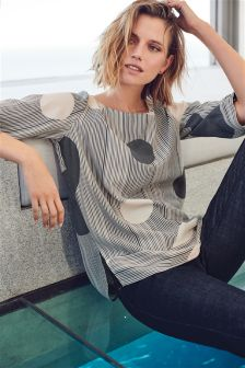 Long Sleeve Boxy T-Shirt