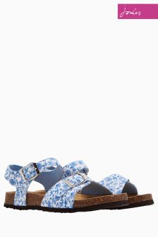 Joules Blue Ditsy Tippytoes Sandal