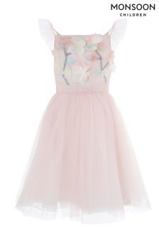 Monsoon Pink Fleur Dress