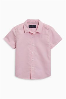 Short Sleeve Oxford Shirt (3mths-6yrs)