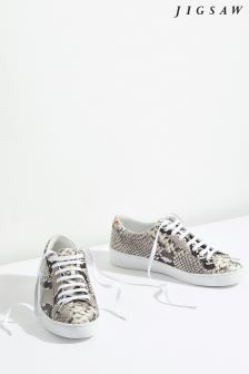 Jigsaw Animal Amour Lace-Up Trainer
