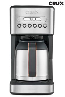 CRUX 10 Cup Thermal Programmable Coffee Machine
