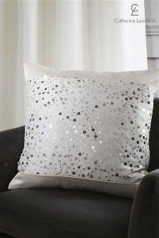 Catherine Lansfield Glitzy Cushion