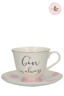 Ava And I Cup And Saucer
