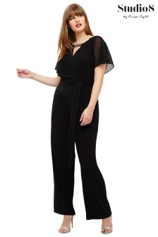Studio 8 Black Carys Jumpsuit