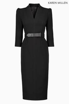 Karen Millen Black Minimal Dress