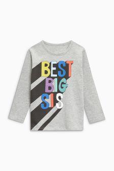 Big Sis T-Shirt (3mths-6yrs)