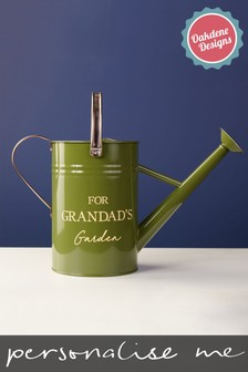 Personalised Enamel Watering Can by Oakdene Designs