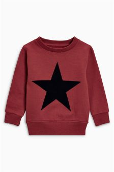 Star Crew Top (3mths-6yrs)