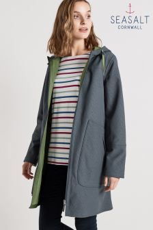 Seasalt Grey Graphite The Skimming Stones Coat