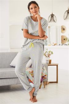 Daisy Cotton Blend Pyjamas