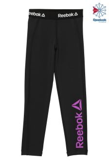 Reebok Black And Vicious Violet Classics Franchise Track Pant