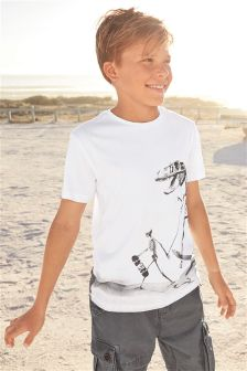 Walking Dino T-Shirt (3-16yrs)