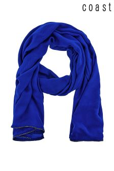 Coast Blue Janey Diamanté Scarf