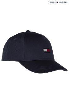 Tommy Hilfiger Blue Classic Flag Baseball Cap