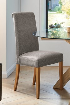 Set Of 2 Camberley House Studio Grey Dining Chairs