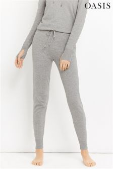 Oasis Grey Knitted Jogger