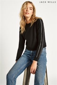 Jack Wills Hazelgrove Cropped Sweatshirt