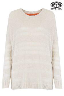 Animal Sutton Skye Vanilla Cream Marl Knitted Jumper
