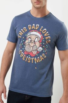 Dad Loves Christmas T-Shirt