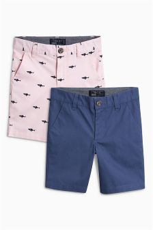 Chino Shorts Two Pack (3-16yrs)