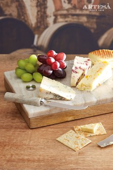 Artesa Cheese Board And Knife Set
