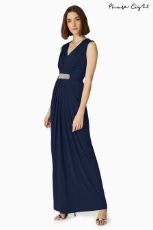 Phase Eight Navy Martha Dress