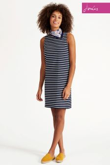 Joules Navy Stripe Riva Dress