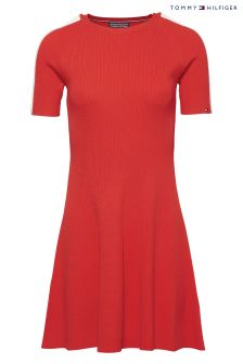 Tommy Hilfiger Red Rayana Dress