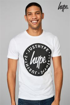 Hype. White Stamp T-Shirt