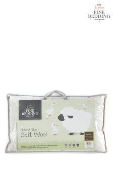 Fine Bedding Company Junior Wool Pillows