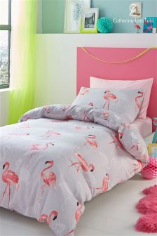 Catherine Lansfield Flamingo Bed Set
