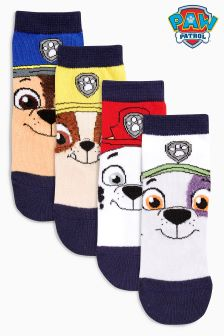 Paw Patrol Socks Four Pack (Younger Boys)