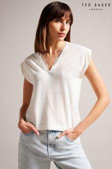 Boden Blue Fairytale Appliqué Dress