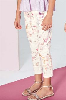 Floral Capri Trousers (3-16yrs)