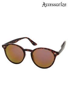 Accessorize Animal Esme Revo Preppy Sunglasses