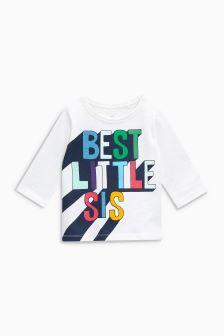 Best Little Sis T-Shirt (3mths-6yrs)